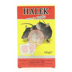 Halek rodenticide 100 mg  Paste